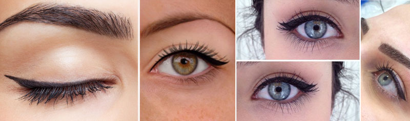 What Permanent Eyeliner options can I choose from?