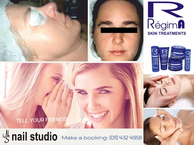 Results from RegimA Facials